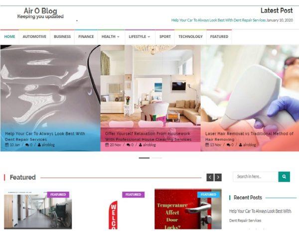 Air O Blog